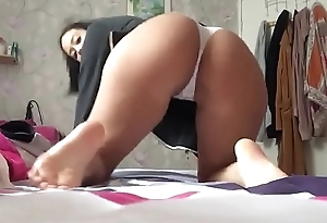 French beurette with big ass twerk