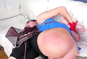 Extreme throat and big brutal dildo Fuck my ass, screw my head