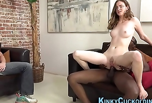 Feet worshipped cuckolder