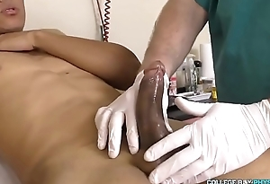 nice twink in doctor room