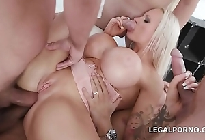 Dirty Talking Sophie Anderson balls deep anal and DAP