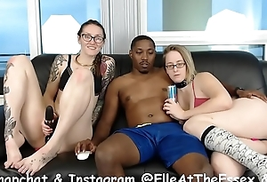 Cam Session 17-11-12 Panda Threesome with Big Titty Blonde