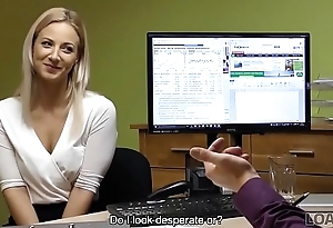 LOAN4K. It'_s not a casting streak blonde undresses and fucks in office