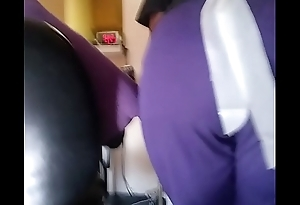 phat ass home aid in scrubs (mature non-nude) wide load keep back 100 ft.