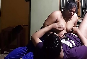 Indian Homemade Titjob - Cock Rub in the first place Nipples and Boobs