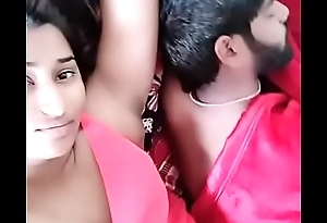 swathi naidu giving romantic expressions and showing boobs