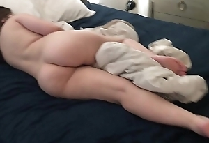 sleeping Stepsis Anal Toyed and Cumshot While Napping