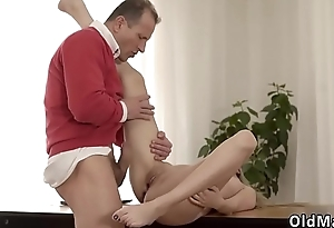 Old couple threesome first time Stranger in a ample palace knows in what way
