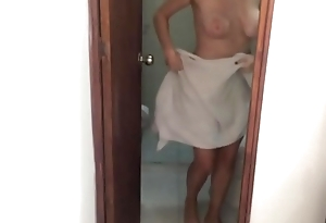 Caught My Teen Law Sister Masturbating In The Shower
