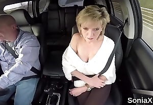 Unfaithful british milf lady sonia shows her giant Bristols