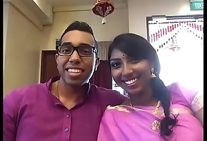 Hot Indian Couple Comprehend Honeymoon In Hotel Room