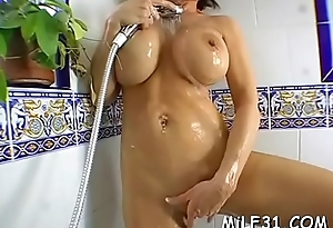 Busty and sexy darling loves to market garden her hot vagina