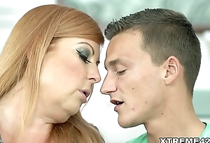 Redhead Mature Loves Cock!