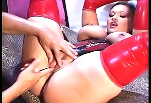 Black guy fingers and eats at large make an issue of mistress