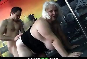Huge melons festival plumper getting doggy-fucked