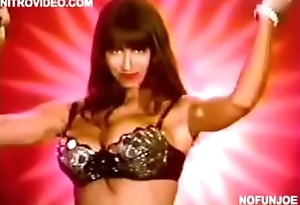 Christy Canyon Does Striptease on NY Public Access Show