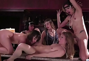 Only girl club in the '_20 - Jenna Sativa, Eliza Jane, Ivy Wolfe