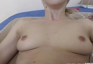 Hungarian blonde rides a big dick - Nesty and Matt Ecumenical