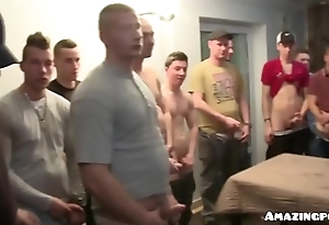 Czech beautiful gets hardcode gangbang