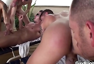 hot gay sauna orgy