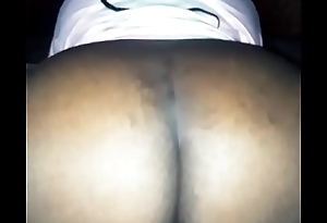 Black cream shaking that ass and showing that wet ass pussy.