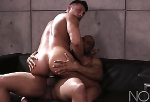 NoirMale Seth Santoro Nails Interview with Hung DILF Ray Diesel