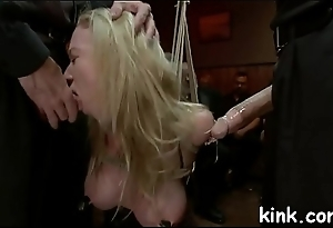Hot pretty beauty busted for glory gap and gets bound and fucked.