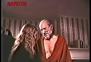 Grandpa take a sex lesson to granddaughter