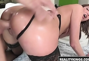 (Vivie Delmonico) wants a big dick and a thumb in the brush ass - Reality Kings