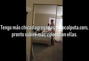 Chubby spanish gf with huge breasts fucked