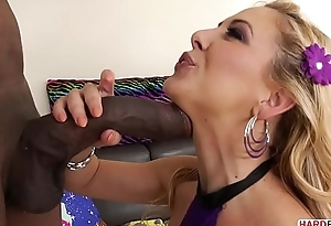 XXL swarthy cock filled Cherie DeVille'_s asshole
