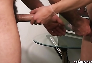 Father shows gay son how to use condoms