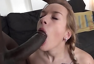 Teen ass fuck and incredible orgasm with big black detect
