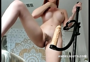Unshaven Fucks Herself With Sex Toy - ANGELSLUTS.COM
