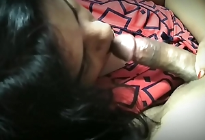Wife licking indian husband dick blowjob and oralsex