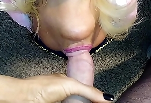 deep upside down dick suck blonde banditt  blow job throat fuck mouth fuck  HUGE PERFECT OILY TITS IN YOUR FACE AS MILF SUCKS AND GAGS ON BIG COCK TITS BOUNCE AND DANCE IN YOUR FACE more at manyvids.com search blonde banditt